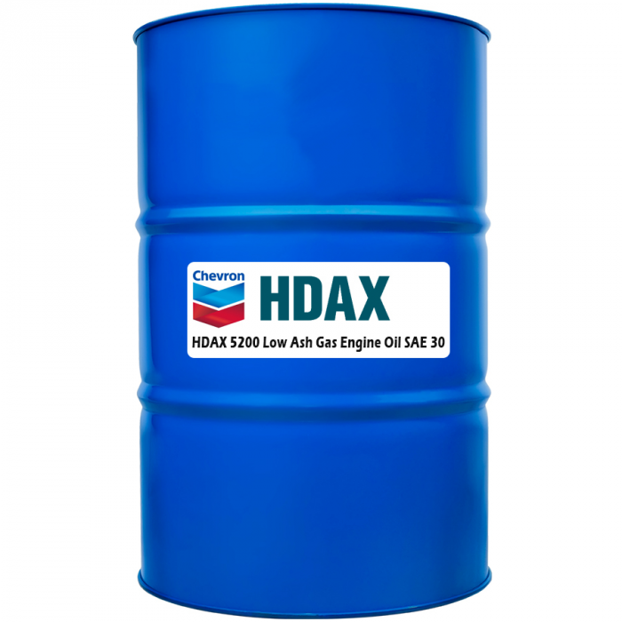 Chevron HDAX 5200 Low Ash 30
