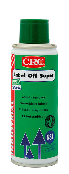 CRC Label Off Super