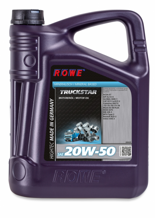 Rowe Hightec Truckstar SAE 20W-50