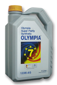 Olympia Super Partly Synthetic 10W-40 SL/CF
