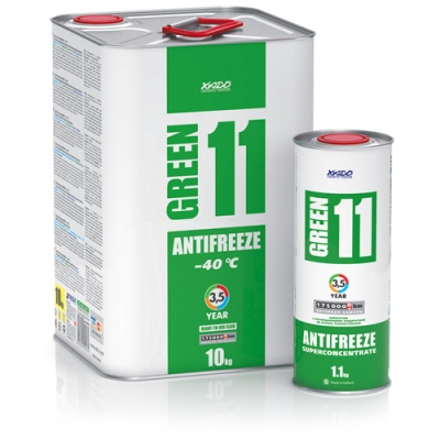 Xado Antifreeze Green 11 -40 °С