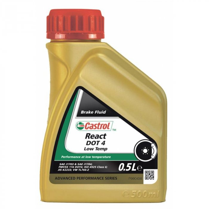 Castrol React Dot 4 Low Temp