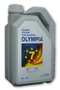 Olympia Protect Fully Synthetic 5W-40 SM/CF