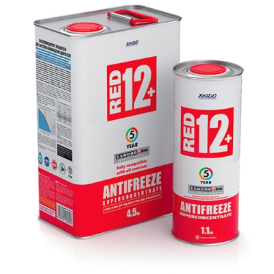 Xado Antifreeze Red 12+