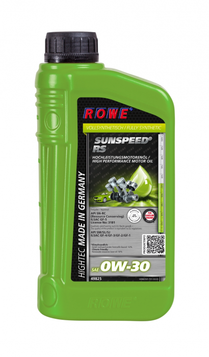 Rowe Hightec Sunspeed RS SAE 0W-30