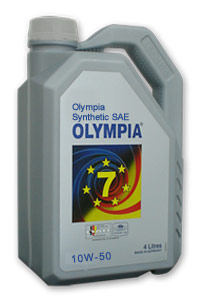 Olympia Synthetic 10W-50 ( Fully Synthetic) API SJ