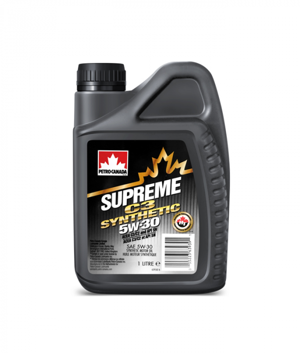 Petro-Canada Supreme C3 Synthetic 5W-30