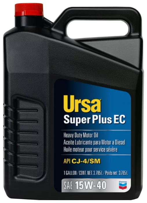 Chevron Ursa Super Plus EC 15W-40