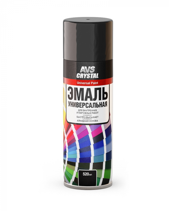AVS Crystal Universal Paint Black Gloss