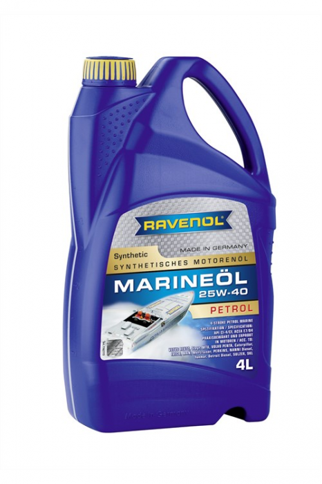 Marineoil Petrol 25W-40 Synthetic
