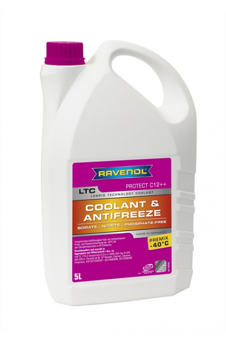 LTC Coolant & Antifreeze Premix -40 °C Protect C12++