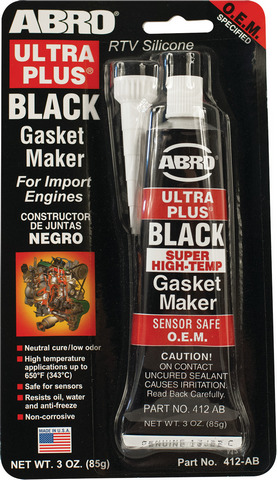Abro Ultra Plus Black Gasket Maker