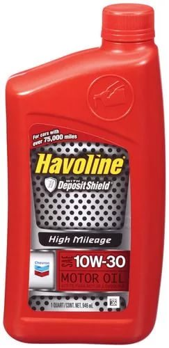 Chevron Havoline High Mileage 10W-30