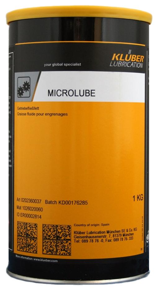 Консистентная смазка для подшипников Klüber Microlube GL 261
