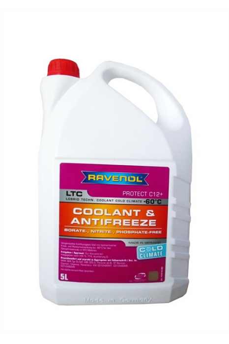 LTC Coolant & Antifreeze Protect C12+ Cold Climate -60 °C