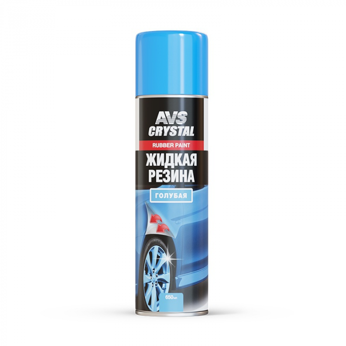 AVS Crystal Rubber Paint Blue