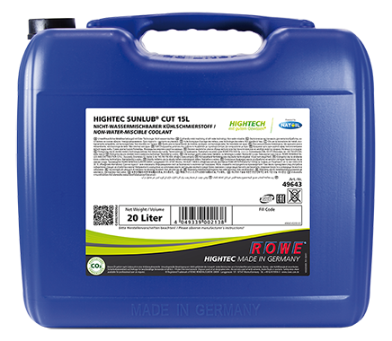 Rowe Hightec Sunlub CUT 15L