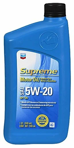 Chevron Supreme 5W-20