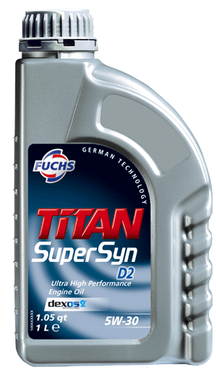 Titan Supersyn D2 SAE 5W-30