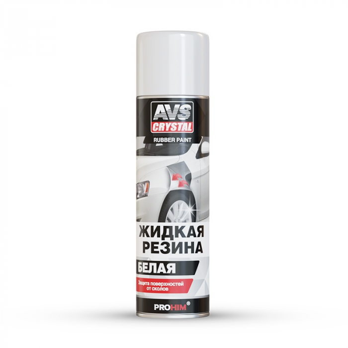 AVS Crystal Rubber Paint White