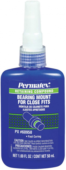 Permatex Bearing Mounts For Close Fits
