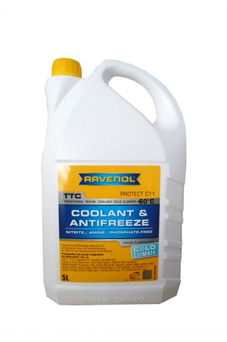 TTC Coolant & Antifreeze Cold Climate -60 °C Protect C11