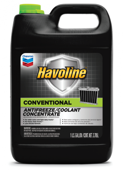 Chevron Havoline Conventional Antifreeze/Coolant Concentrate & Premixed 50/50