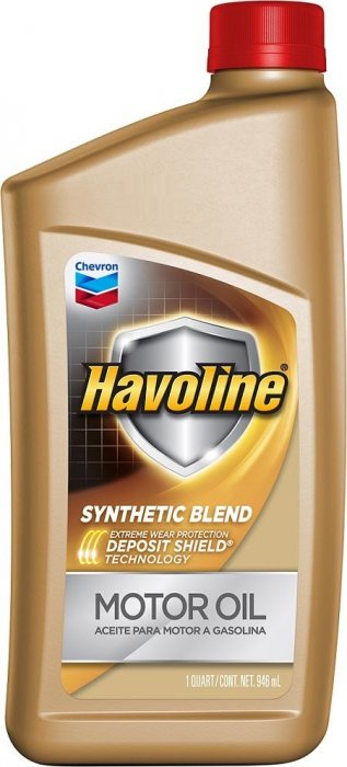 Chevron Havoline Synthetic Blend 5W-20