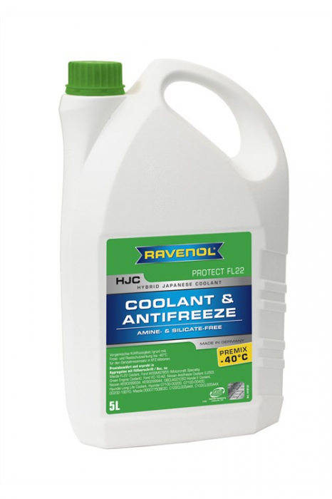 HJC Coolant & Antifreeze Premix -40 °C Protect FL22