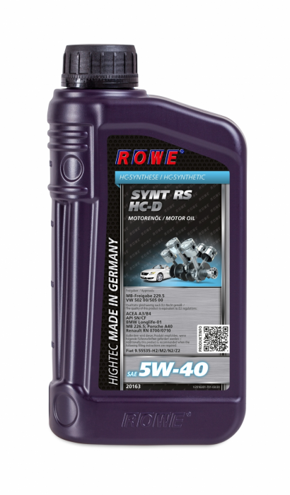 Rowe Hightec Synt RS SAE 5W-40 HC-D