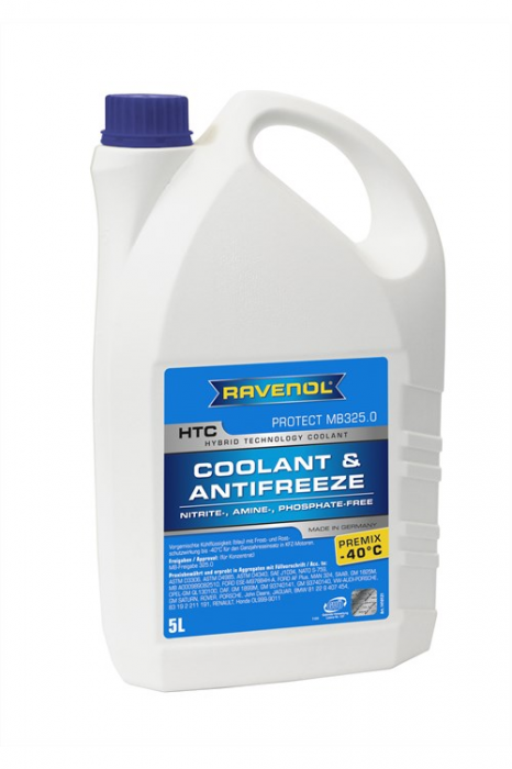HTC Coolant & Antifreeze Protect MB325.0 Premix -40 °C