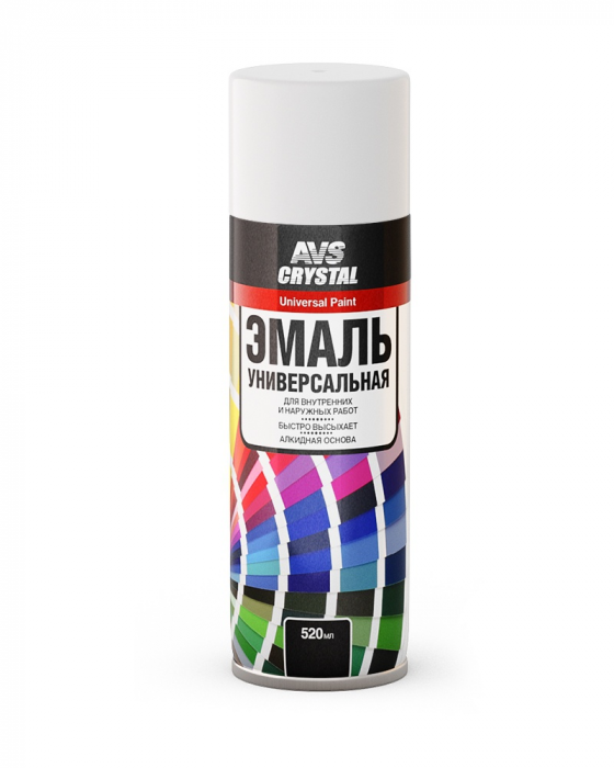 AVS Crystal Universal Paint Matt White