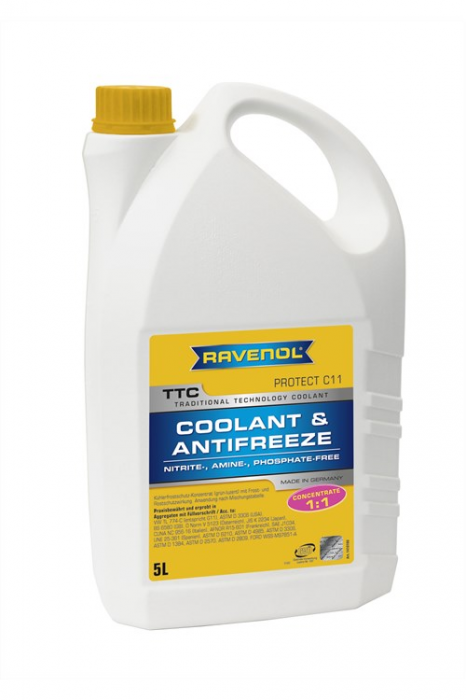 TTC Coolant & Antifreeze Protect C11 Concentrate