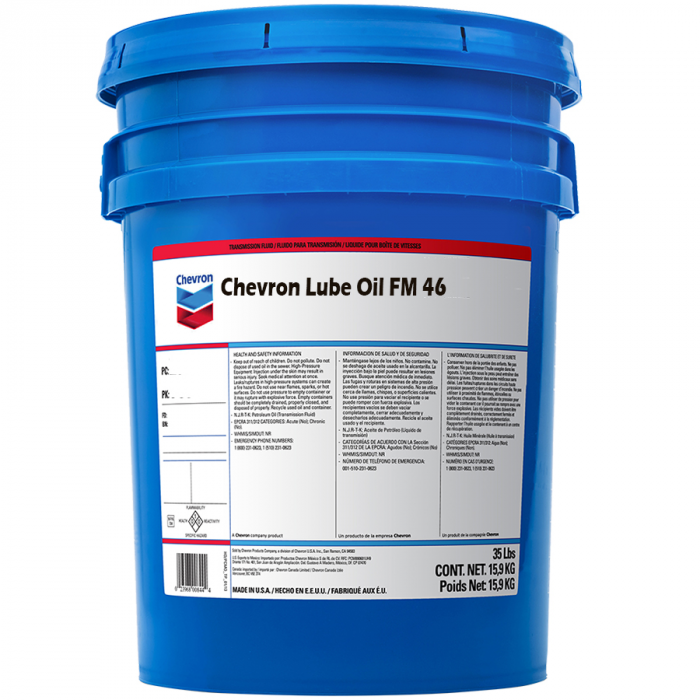 Chevron Lubricating Oil FM 46