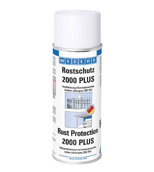Weicon Rust Protection 2000 Plus Silver Grey