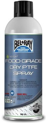 Bel-Ray No-Tox Food Grade Dry PTFE Spra